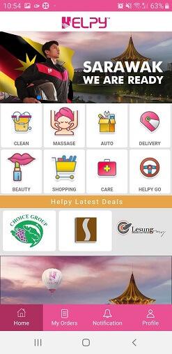 helpy app