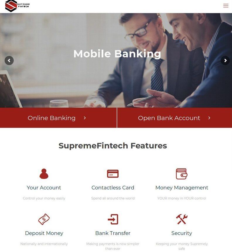 Supreme Fintech - Banking