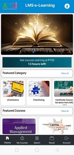 LMS Elearning App