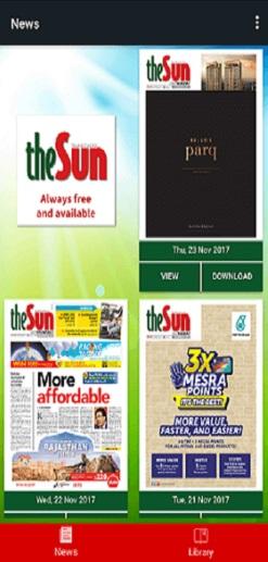 The Sun Daily App