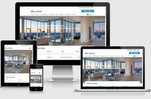 Real Estate Website Development Services Company
